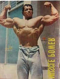 Rare young Arnold Schwarzenegger
