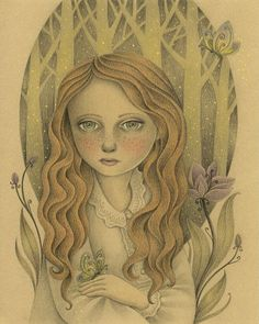 Through the Forest on Behance Amalia K