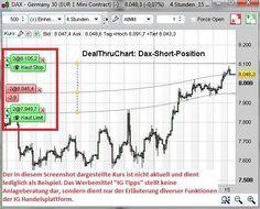 Handel direkt aus dem Chart? Verwenden Sie Profi- oder Quickcharts, um Ihre Trades direkt zu platzieren.