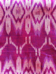Beautiful traditional ikat weave from Bali