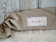 Goodbye stale bread. Keep bread fresh by storing it in a linen bag..