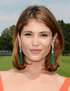 Gemma Arterton masters the cat-eye look for day.