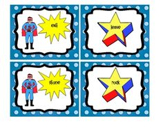Pair synonyms to match the Superhero to a shooting star. This document includes 20 pairs of synonyms. This can be used as a center or station, small group activity, or for independent practice.