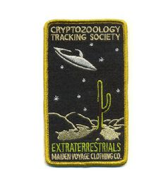 Criptozoología sociedad de seguimiento: Parche de extraterrestres