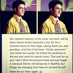 A Very Potter Senior Year | Darren Criss  I may have stared bawling at this part.