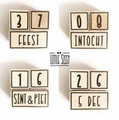 aftelblokjes Sint &Piet | Sint & Piet | Little Sissy