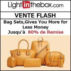 #missbonreduction; Vente Flash : jusqu'à 80 % de remise sur les Bag Sets,Gives You More for Less Money chez Light in the box. http://www.miss-bon-reduction.fr//details-bon-reduction-Light-in-the-box-i852558-c1835999.html