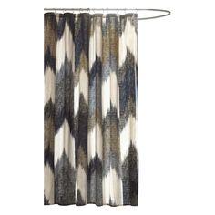 INK+IVY Alpine Cotton Shower Curtain