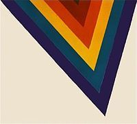 Kenneth Noland - Colour Field Painting