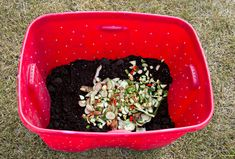 How To Make an Easy DIY Compost Bin | | Blissfully DomesticBlissfully Domestic | Page 2