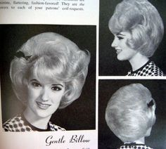 An outstanding coiffure with superb teasing 1960 Hairstyles, Curled Hairstyles, Vintage Hairstyles, Updo Styles, Hair Styles, Helmet Hair, 1960s Hair, High Hair, Beehive Hair