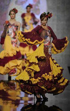 Segundo día de SIMOF 2014, Salón Internacional de Moda Flamenca - lavozdigital.es