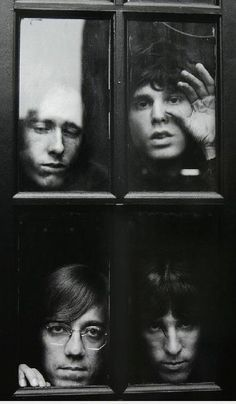 The Doors - The best classic rock by Jim Morrison. Trip Hop, Pop Rock, Rock N Roll, The Doors Jim Morrison, Foto Poster, Band Photography, White Photography, We Will Rock You, Janis Joplin