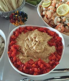 Roasted Red Pepper Hummus - Catering by Debbi Covington - Beaufort, SC