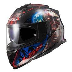 Full Face Motorcycle Helmets, Full Face Helmets, Motorcycle Gear, Ls2 Helmets, Dark Helmet, Helmet Brands, Emergency Response Team, Black Magic Woman, Mens Flannel
