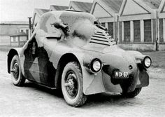 """The Škoda PA-II (Panzerwagen II) featured rounded armor plate which earned it the nickname ""Tortoise"". Production started in 1923, with 12 units ordered. Vienna's police force purchased three vehicles in 1927, and the remaining nine vehicles were purchased by the Czech police force in 1937. The Germans took over the PA-IIs when they annexed Czechoslovakia in 1939, and used them as armored radio vehicles."""