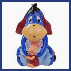 Take a look at this Eeyore & Piglet Cookie Jar by Westland Giftware on today! Banish the blues with EEyore and Piglet. Store dried fruit packets, cookie cutters etc. if you aren't into cookies. Winnie The Pooh Friends, Disney Winnie The Pooh, Ceramic Cookie Jar, Cookie Jars, Cookie Cutters, Westland Giftware, Teapot Cookies, Biscuits, Disney Cookies