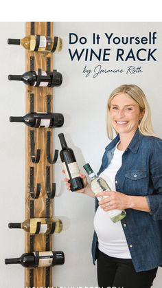 How To: DIY Wine Rack Storage from Help! I Wrecked My House with Jasmine Roth | HGVT Projects