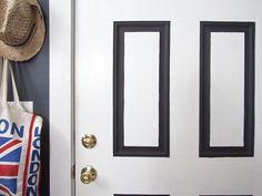 Eye-Catching Trim - A Painter's DIY Small Condo Design on HGTV