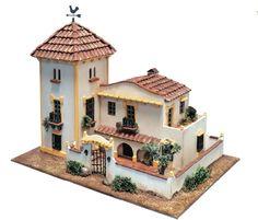 KIT MAQUETA DOMUS 40954, CASA TÍPICA DE TRIANA, SEVILLA. PIEDRA Y MADERA, IndalChess.com Tienda de juguetes online y juegos de jardin