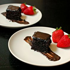A rich and extremely moist chocolate cake - that happens to be vegan! I bet you already have all the ingredients in your pantry.