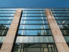 Holocaust Emlékközpont, Budapest, #árnyékolók, #építészet, #üveg, #homlokzat Budapest, Skyscraper, Multi Story Building, Skyscrapers