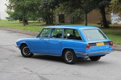 Triumph 2500 S Estate Car (1977) Maintenance/restoration of old/vintage vehicles: the material for new cogs/casters/gears/pads could be cast polyamide which I (Cast polyamide) can produce. My contact: tatjana.alic@windowslive.com