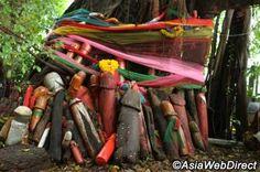 Bangkok Phallic Shrine - Shrine of Goddess Tubtim in Bangkok- take jillian there for fertility fortune! Travel Planner, Trip Planner, How To Make Ribbon, Baby Elephant, Thailand Travel, Fertility, Tub, Well Well