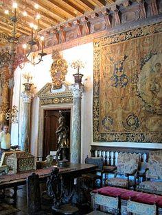 Vizcaya--My mother was instrumental in thee restoration of Vizcaya