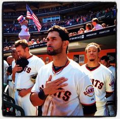 Angel Pagan... love his love of the game and this country!