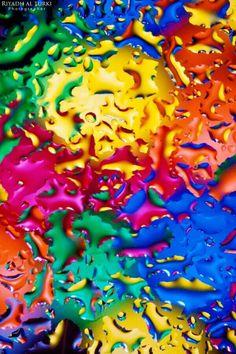 Rainbow colour #art #photography
