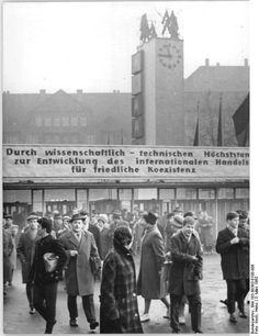 Leipziger Messe 1963.