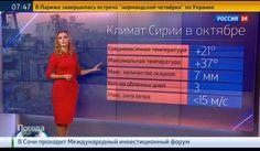 La météo syrienne en direct de Moscou
