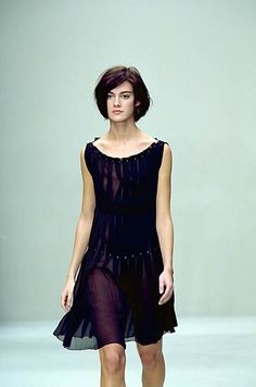 Prada | Spring 2000 Ready-to-Wear | 55 Black sleeveless mini dress