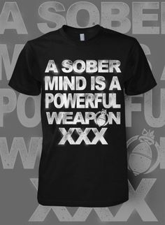 Motive Company A Sober Mind Is A Powerful Weapon Black
