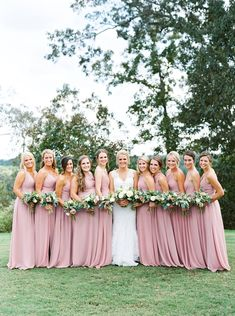 781bc6d0e537 Foxhall Legacy Lookout Resort Wedding | Azazie Dusty Rose Bridesmaid  Dresses Dusty Rose Bridesmaid Dresses,