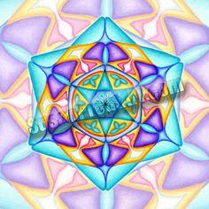 Mandala Solfeggio 852 Hz, Returning to Spiritual Order