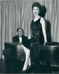 Ann Blyth - 'The Helen Morgan Story' - 1957