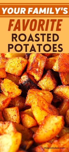 Your family is going to love these seasoned roasted potatoes! This is the perfect side dish for burgers, fish, and chicken. The spice blend is just right! Vegan Dinner Recipes, Vegan Dinners, Dairy Free Recipes, Soup Recipes, Gluten Free, Burger Side Dishes, Potato Side Dishes, Seasoned Roasted Potatoes, Good Food