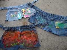 The Fantastic Five: Recycled Art: Jean Tool Belt