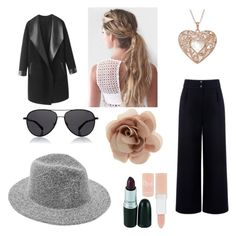"""""""Untitled #6"""" by eliza-oliveira on Polyvore featuring Être Cécile, The Row, Accessorize, Columbia and Rimmel"""
