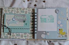 Mini album bebe - Sweet dreams of scrap Mini Albums Scrap, Mini Scrapbook Albums, Baby Scrapbook, Baby Mini Album, Planner Pages, Smash Book, Baby Cards, Scrapbooks, Card Making
