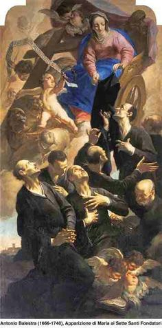 Seven invocations to the Seven Holy Founders of Servites