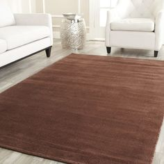 @Overstock - The Himalayan Solo takes today's colors and creates a soft and inviting welcomed addition to any home. Hand-tufted of 100-percent wool pile, surged edging with a cotton canvas backinghttp://www.overstock.com/Home-Garden/Handmade-Safavieh-Himalayan-Solo-Brown-Wool-Rug/7424323/product.html?CID=214117 $59.99