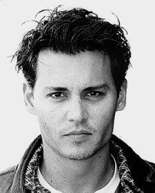 Johnny Depp. Who else could look that adorable with scissorhands?
