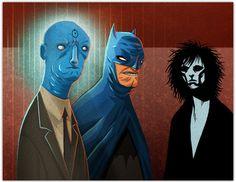 tinman,creative,studios,batman,xmen,watchmen,burton,brett,jubinville,editorial,illustration