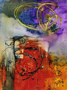 Large, Colorful Abstract Art by Michel Keck. Colorful abstract art on canvas, paper and more.