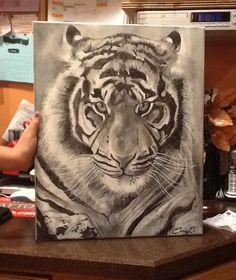 Casey's tiger Animals, Inspiration, Art, Biblical Inspiration, Art Background, Animales, Animaux, Kunst, Animal