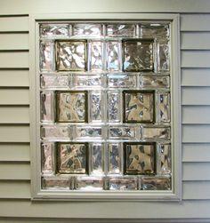 Glass block basement windows pinteres for Glass block window sizes