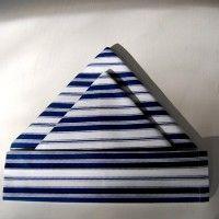 Napkin Folding Tutorial: Double Sails